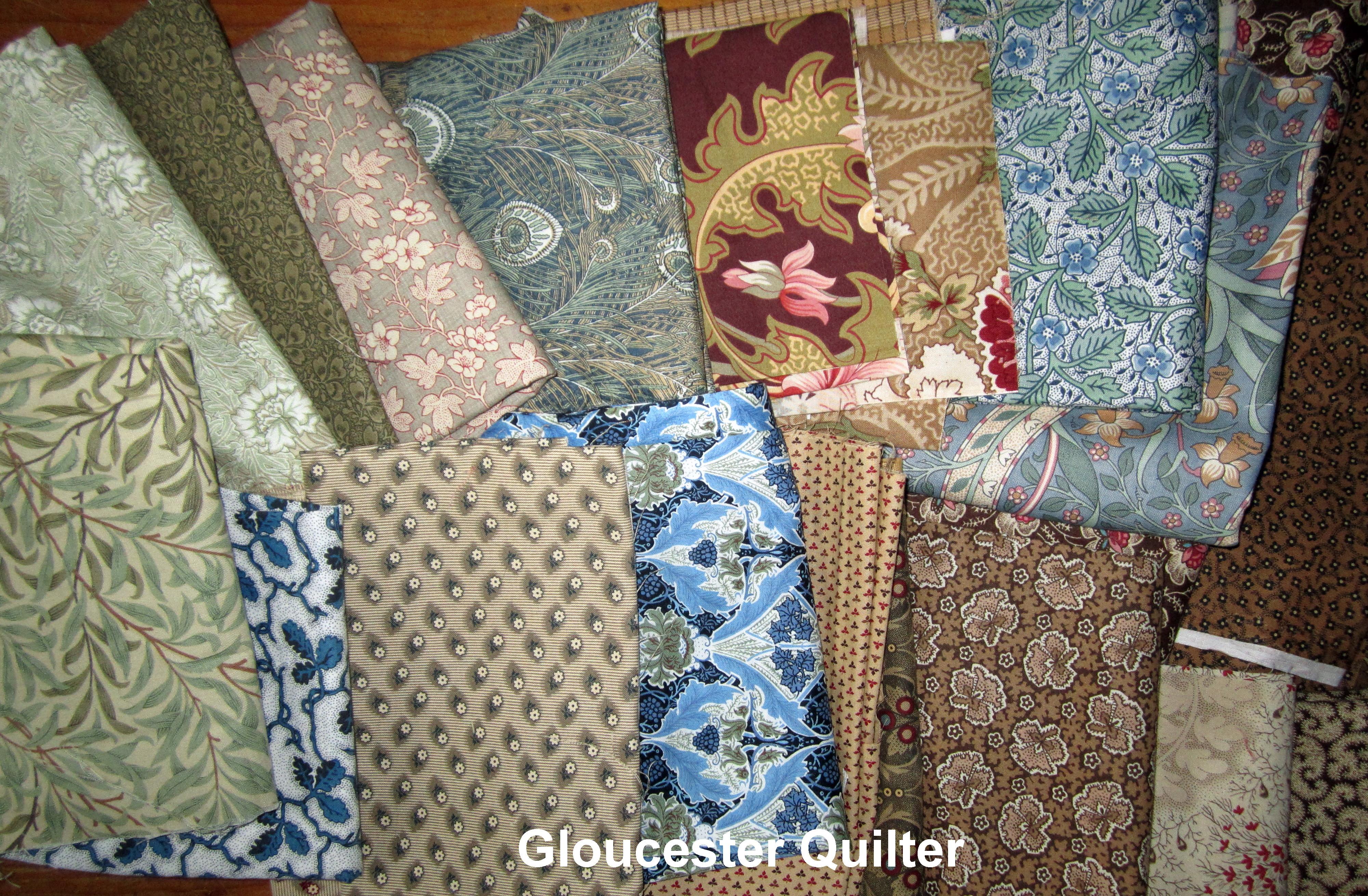Next on Deck: Even More William Morris – Gloucester Quilter : william morris quilt patterns - Adamdwight.com