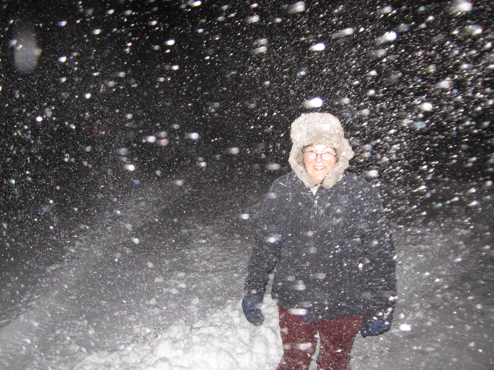Modren Snow Storm Night H Throughout Inspiration